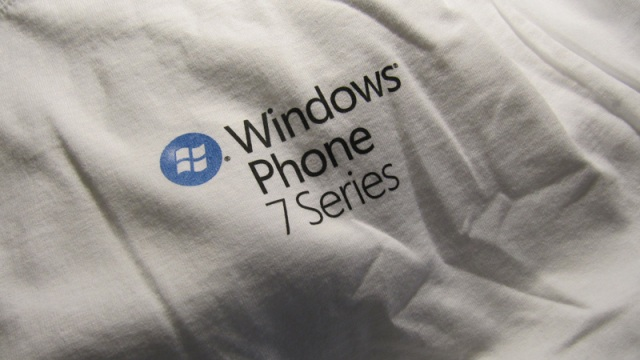 Windows Phone 7 Series t-shirt